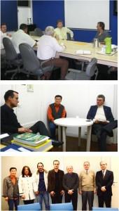 Reuniões com principais conselhos: CREA, CRA e CRQ